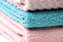 Towel stack Stock Photos