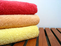 Towel stack 3 Stock Photography