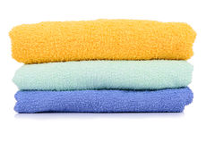 Towel stack Isolated Stock Image