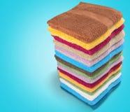 Towel Stack Stock Photo
