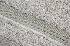 Towel texture Stock Photo