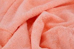 Towel background. Towel texture as a background Stock Photos