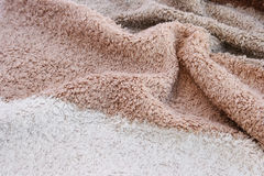 Towel texture Stock Photography