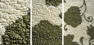 Towel textures series Stock Images