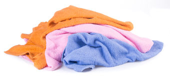 Towel. towel on a background Stock Photo