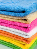 Towel tower Royalty Free Stock Photo