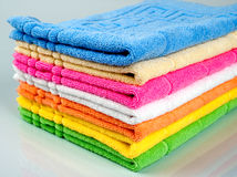 Towel tower Royalty Free Stock Image