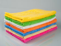 Towel tower Stock Photography