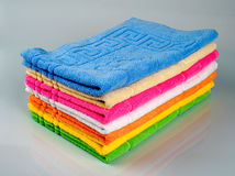 Towel tower Stock Images