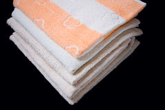 Towel washcloth Stock Photos