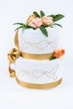 Towel wedding decoration. Royalty Free Stock Photo
