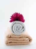 Towel wellness Stock Image