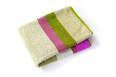 Towel on white Royalty Free Stock Photography