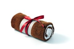 Free Towel With A Ribbon Stock Photo - 12013890