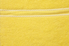 Towel yellow Royalty Free Stock Photography