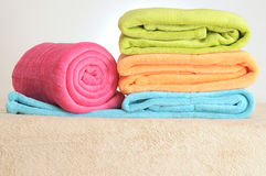 Towels. Royalty Free Stock Photos