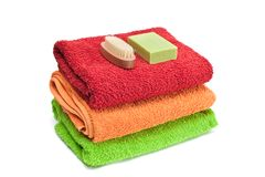 Towels. Stock Photography
