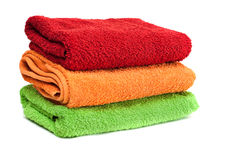 Towels. Stock Images