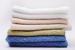 Towels. � Bath stock photo