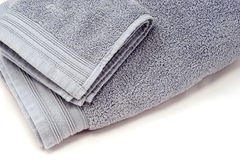 Towels. Terry cloth towels on white background Stock Images
