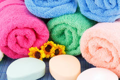Towels Stock Image