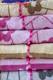 Towels freshly laundered Royalty Free Stock Photo