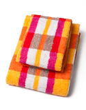 Towels isolated on white Royalty Free Stock Photography