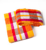 Towels isolated on white Royalty Free Stock Images