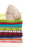 Towels for the kitchen Royalty Free Stock Photos