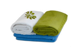 Towels package Stock Images