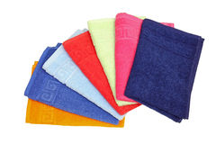 Towels palette Royalty Free Stock Photos