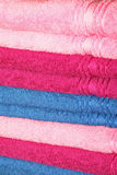 Towels pink Royalty Free Stock Images