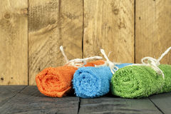 The towels Royalty Free Stock Photography