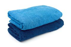 Towels and soap Royalty Free Stock Photos