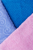 Towels. Texture Royalty Free Stock Photos