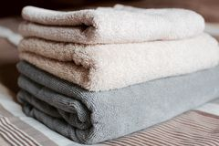 Towels Stock Photo