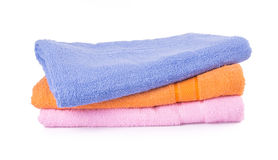 Towels. towel on a background Stock Image