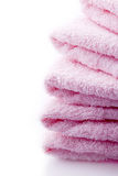 Towels for wellness spa and bahth Stock Photo