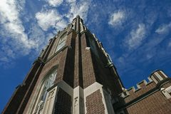 Tower #1. Tower at Loyola University in New Orleans Stock Photos