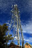 Tower. A broadcast tower stock photos