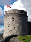 Tower. Old castle tower ireland,limerick Stock Photography
