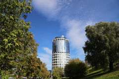 Tower 2000, Moscow International Business Centre (Moscow-City). Russia Royalty Free Stock Photography