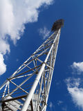 Tower. Lighting tower of Tula's stadium Stock Photography