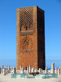 Tower. Old tower in the city of Rabat, Morocco Stock Images