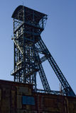 Tower. Town with the mining of minerals steel production in the Czech Republic Stock Image