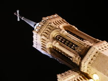 Tower. Old french architecture of fourvière basilica royalty free stock images