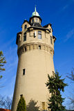 Tower. Old stone tower standing on city suburb Royalty Free Stock Photo