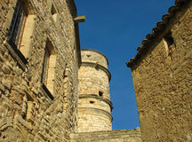 Tower. Old tower from france Rue du Pre Stock Photos