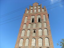 Tower. Of kenigsberg. very old historic building Stock Images
