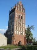 Tower. Historic castle building kenigsberg kaliningrad travel gothic knights stone structure Stock Images